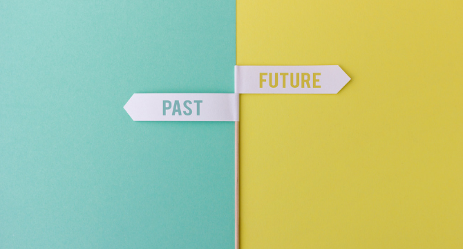 Abandon your past to create your future